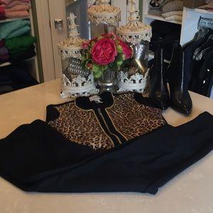 Beautiful Michael Kors black jean style pants